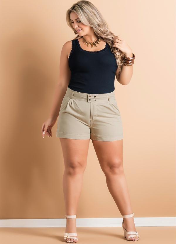 5d34883b6 short feminino de alfaiataria plus size promoção barato!!! Carregando zoom.