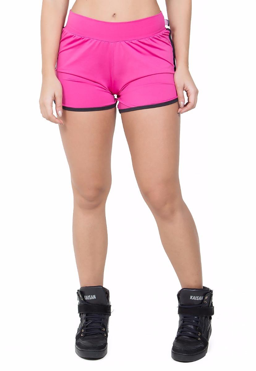 short feminino fitness musculação verão 2018 - f509. Carregando zoom. f74b92da0fbd8