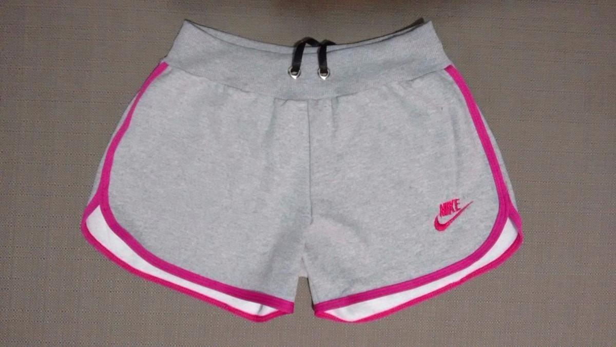Short Feminino Nike Shortinho Moletom Microshort Kit C 6