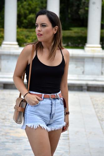 short forever 21 talla 25 rasgado de moda! mujer negociable