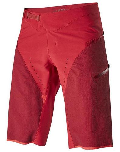 short fox defend kevlar® rojo cardenal