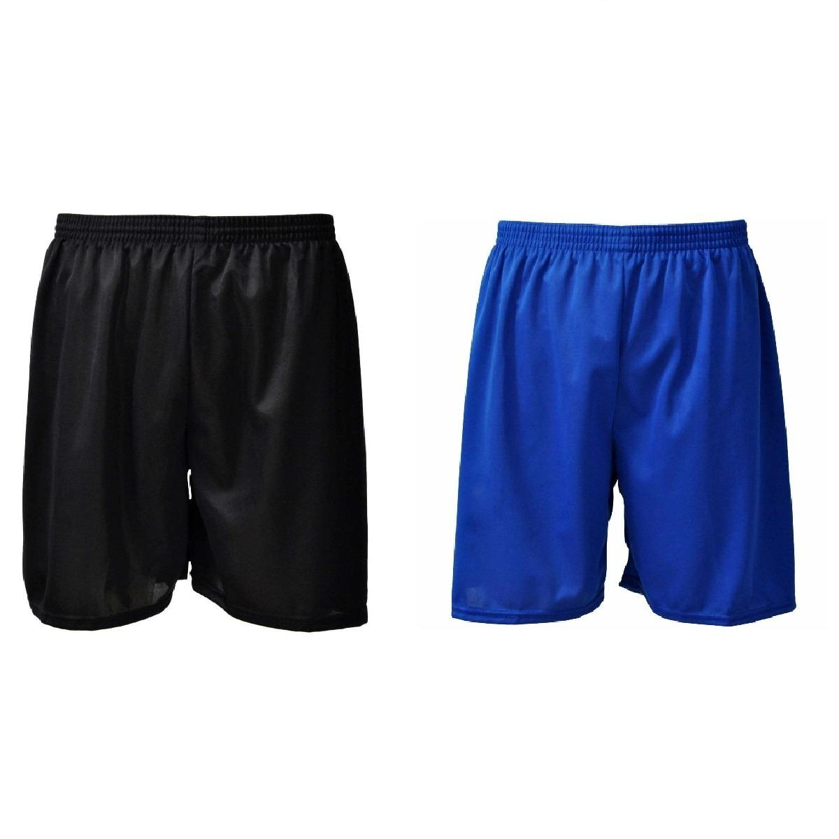 d33726e70f88e short futebol jogador com rede proteção poliéster kit 2 uni. Carregando  zoom.