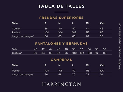 short hombre harrington label 450454