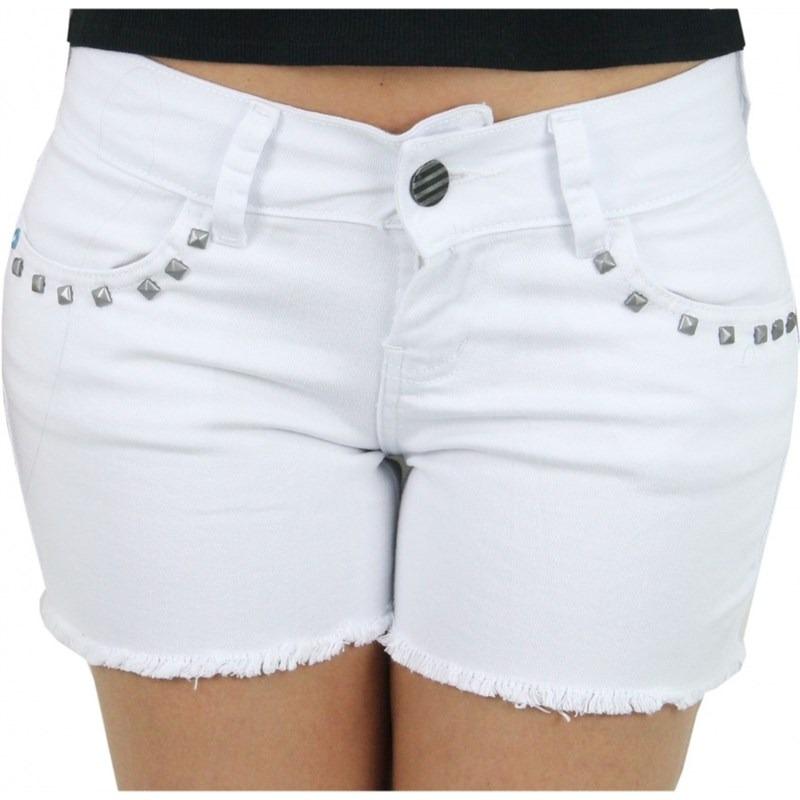 short hurley jeans reveillon feminino branco. Carregando zoom. fbc22581404