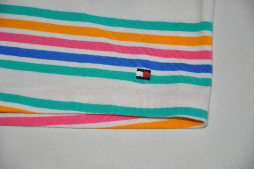 short infantil feminino tommy hilfiger - cores -100%original