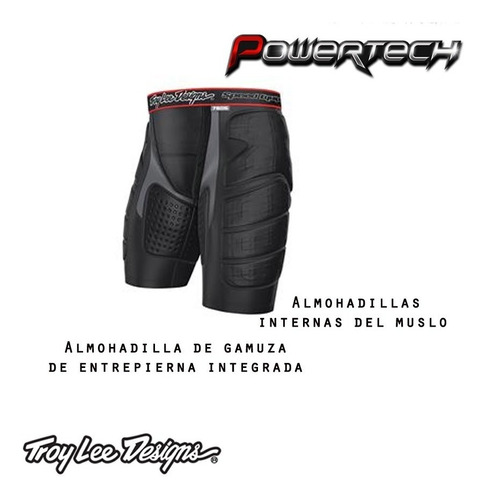 short interno calza ultra proteccion troy lee designs 7605