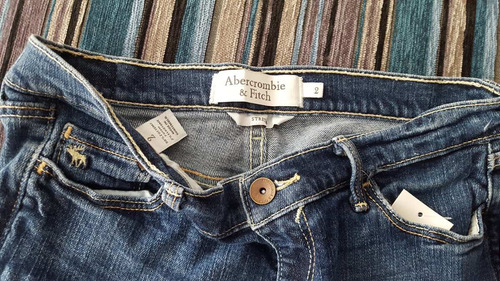 short jean abercrombie dama 2 xs americano usado stock