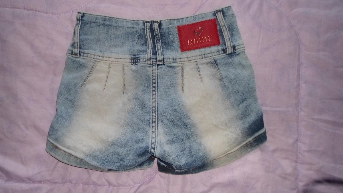 3ed47d6d05 Short Jean Mujer Elastizado Sin Bolsillos Levanta Cola T. 36 - $ 350 ...