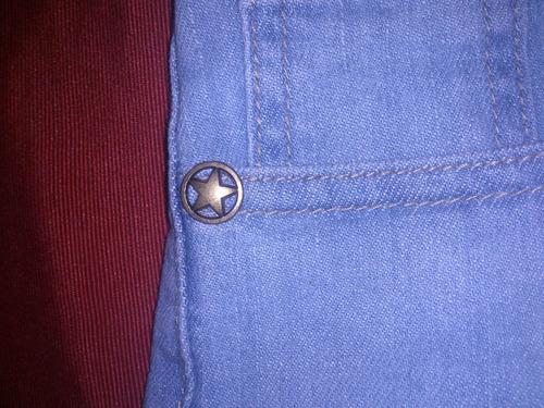 short jean mujer, talle 36 elastizado, corto. muy bueno!!