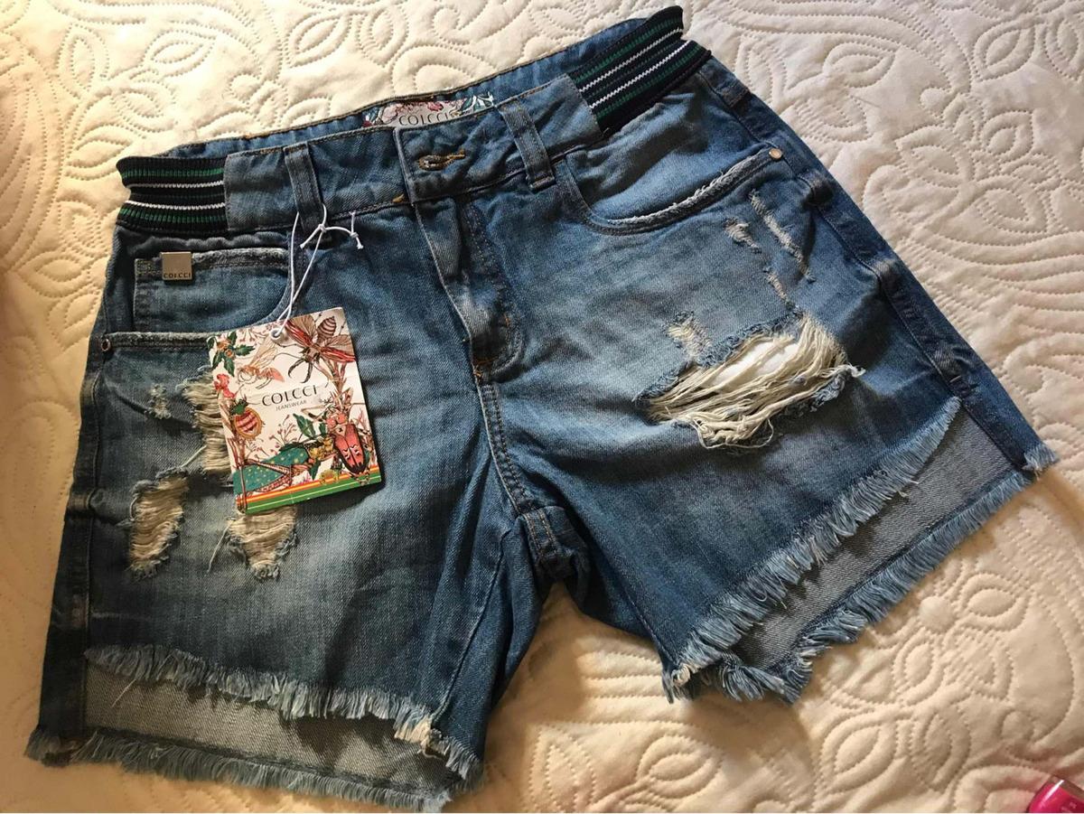 5371bbd1b Short Jeans Colcci - R$ 200,00 em Mercado Livre