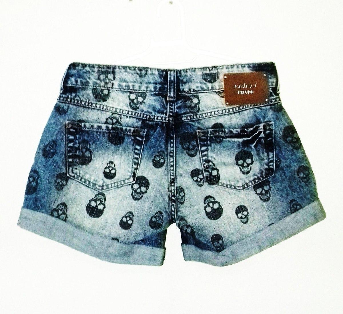 b2a72bc0a Short Jeans Feminina Colcci Silver Lab Tms 36 & 40 - R$ 199,00 em ...