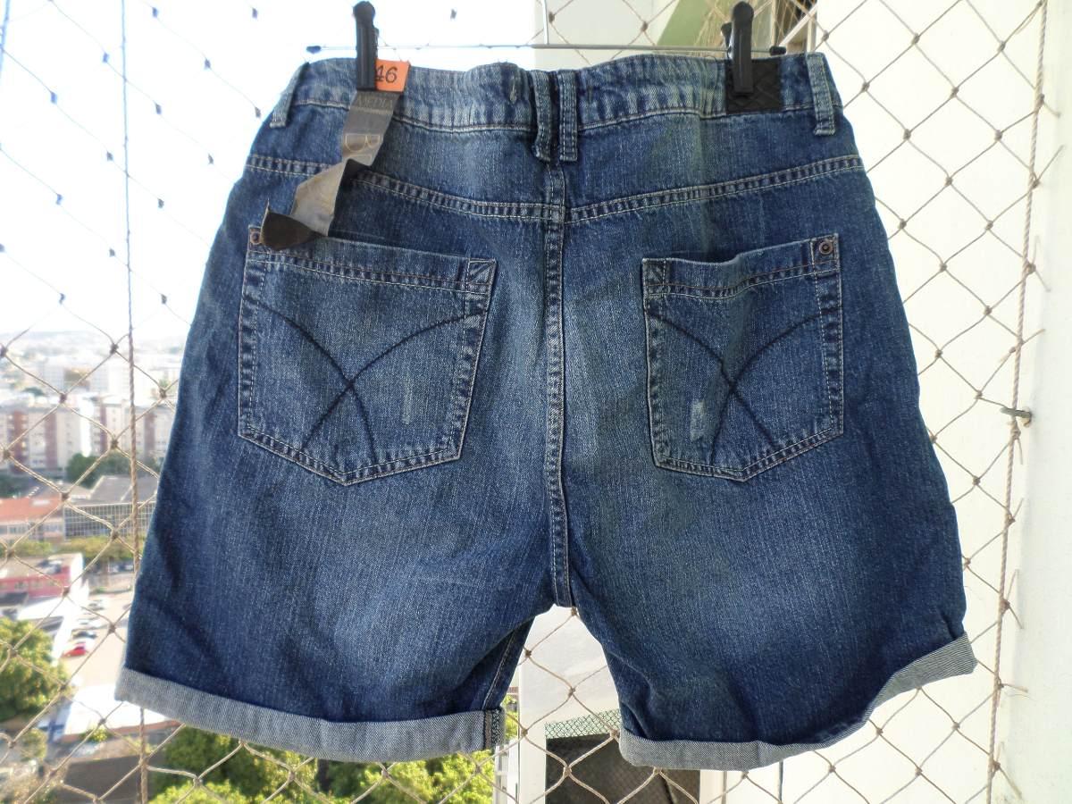a6225d79e Short Jeans Boyfriend Feminino Novo 46! - R$ 70,00 em Mercado Livre