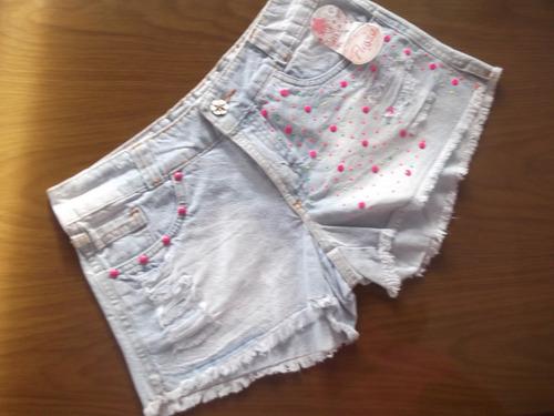 short jeans feminino com jeans de ótima qualidade