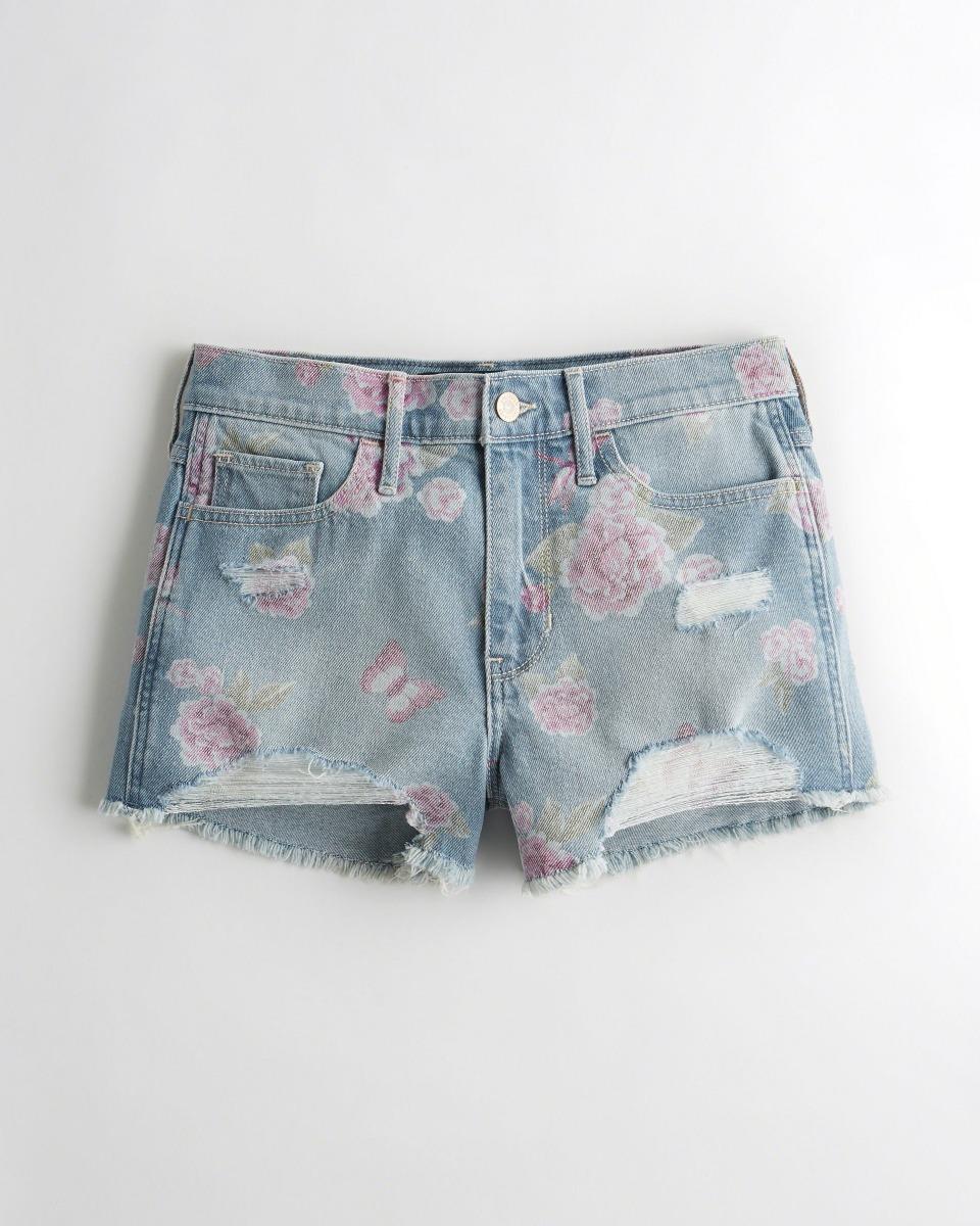 hollister feminina shorts jeans