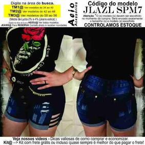 7ffbac4fa Roupas Femininas Do Momento - Shorts Azul marinho em Pernambuco no ...