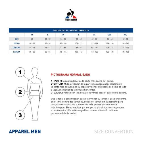 short le coq sportif covey print short m hombres