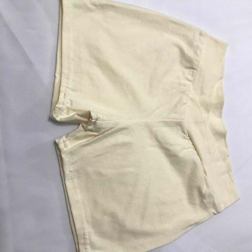 short likra algodón surtido en colores 60 piezas