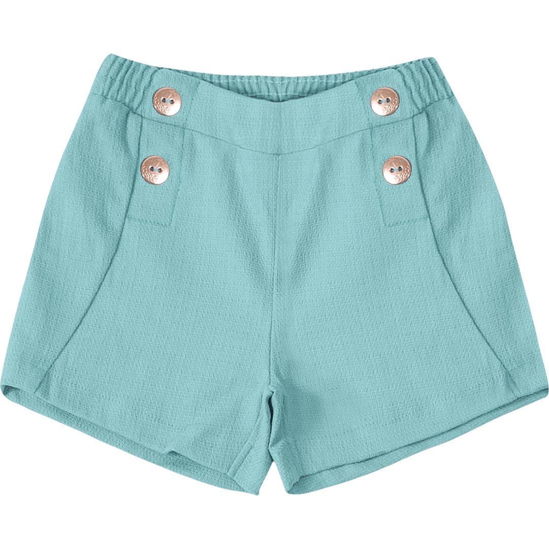 95ba7d65e Short Lilica Ripilica Verde Menina - Tamanho 1p - R$ 139,00 em ...