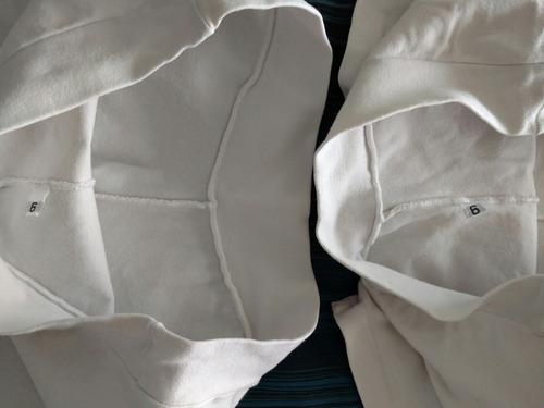 short lycra de algodón blanco