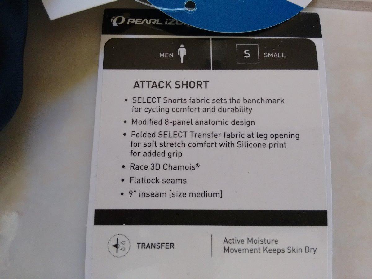 Short Lycra Pearl Izumi Attack Para Ciclismo De Ruta   Mtb ... 720f61b84aaf0