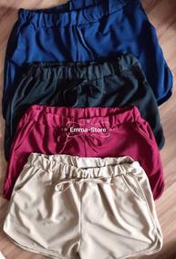 46e65993d Short Malha Fina - Shorts Poliéster Outras Marcas para Feminino em São Paulo  no Mercado Livre Brasil