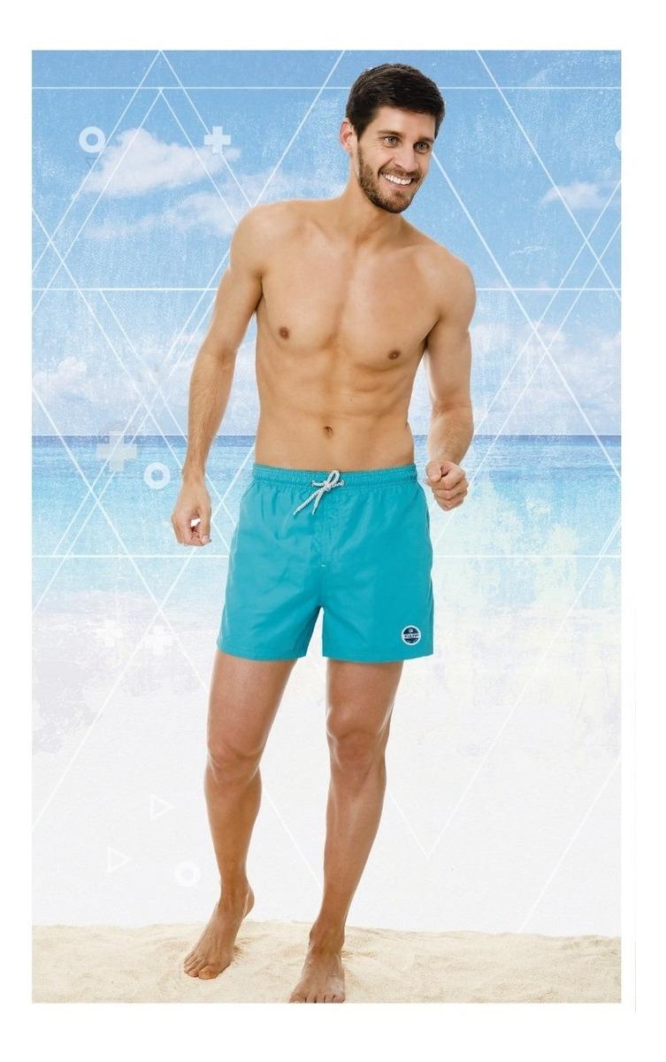 ea3145c407fd Short Malla De Baño Corta Para Hombre