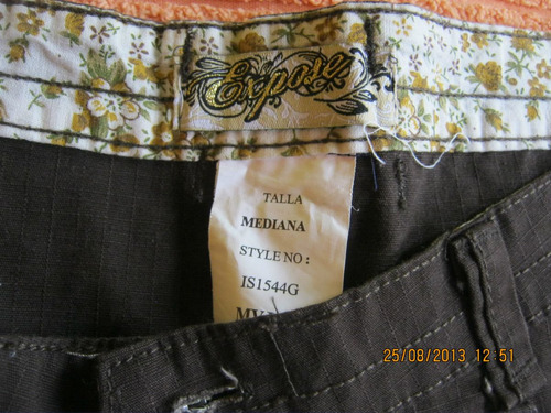 short marca expose talla 28 color marron