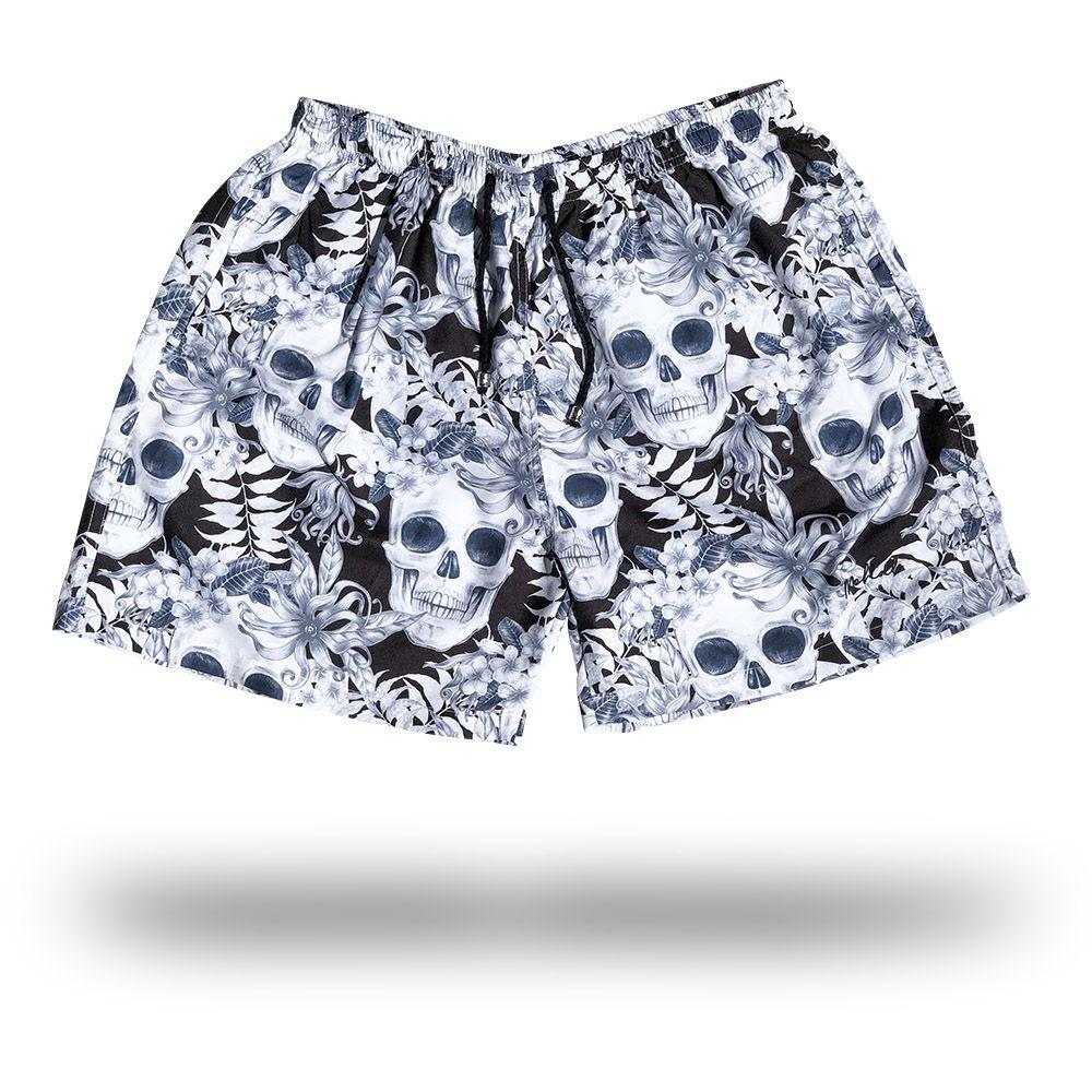 d3f7ba84ea6a0 short masculino moda praia - caveira. Carregando zoom.