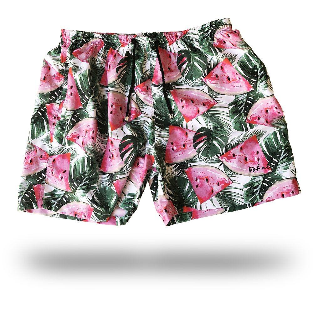 99d7eb92dc0c8 short masculino moda praia - melancia. Carregando zoom.