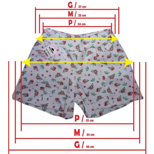 short menina roupas