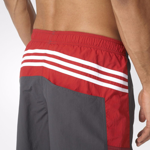 short natacion colorblock hombre adidas ay4414