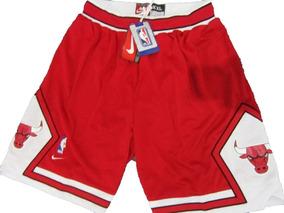 d98087025f5 Short Nba Chicago Bulls Jordan Pippen Rodman Vermelho