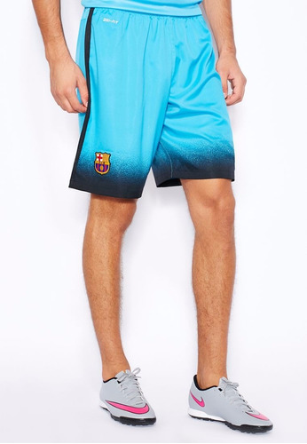 short nike del barcelona 3` equioacion futbol profesional
