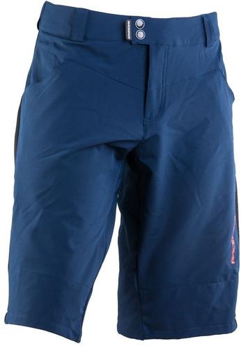 short para ciclismo raceface indy short negro/azul