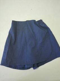 f58e6d471 Short Pollera Escolar Azul Talle 8