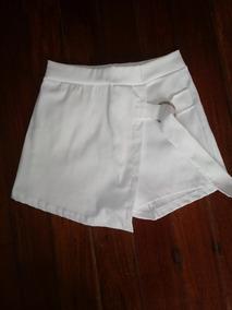 f68925418 Faldas Cortas De Vestir - Polleras Corta de Mujer Blanco en Mercado ...