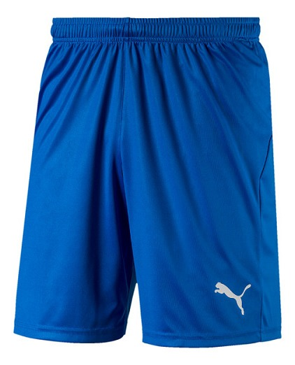 Short Puma Liga Core Electric Blue Lemonade Original