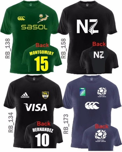 short rugby all blacks stade francais pumas wallabies 2015