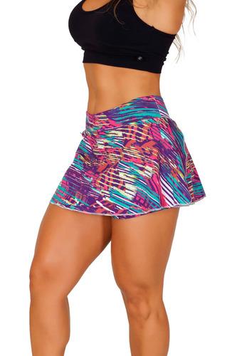 short-saia suplex academia fitness estampado frete gratis