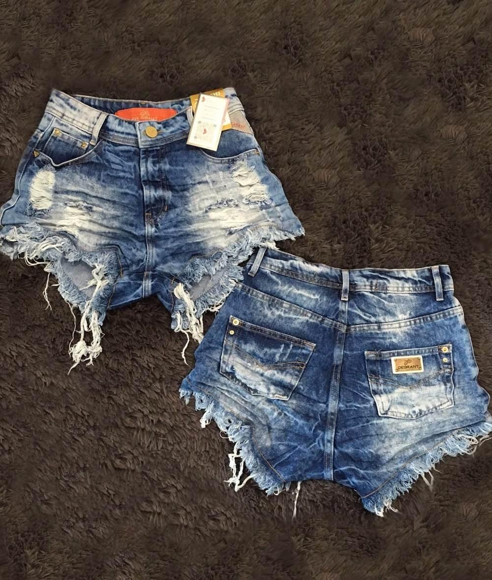short shortinho verão hot pants cintura alta kit c10 atacado. Carregando  zoom. 5608459ce3b