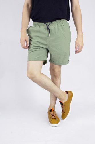 short synergy impermeable verde h411
