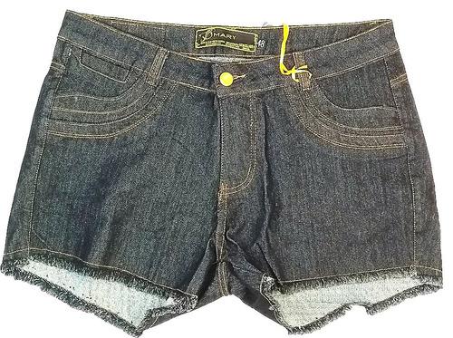 short tamanhos grandes plus@ size jeans lycra 3% sd06 aeiou@