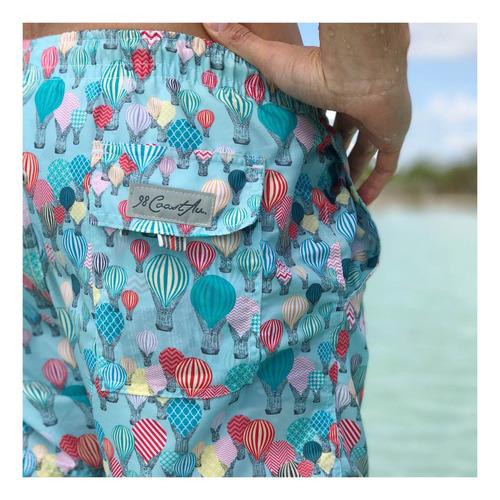 short traje de baño, 98 coast av., balloons