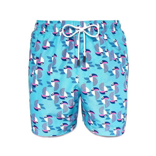 short traje de baño, 98 coast av., blue tukan