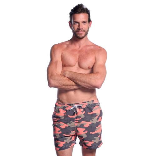short traje de baño, 98 coast av., camouflage
