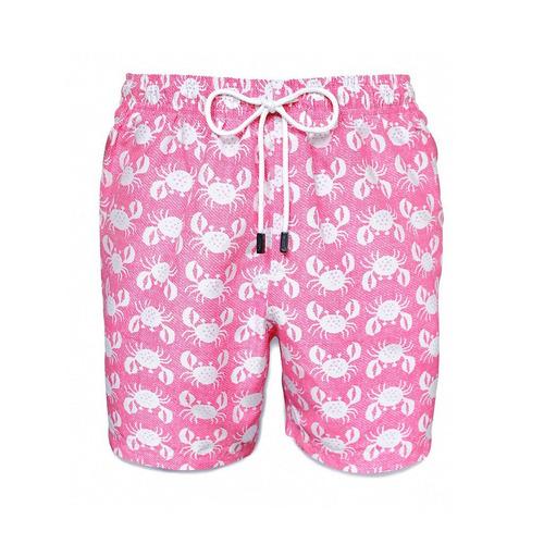 short traje de baño, 98 coast av., pink crabs