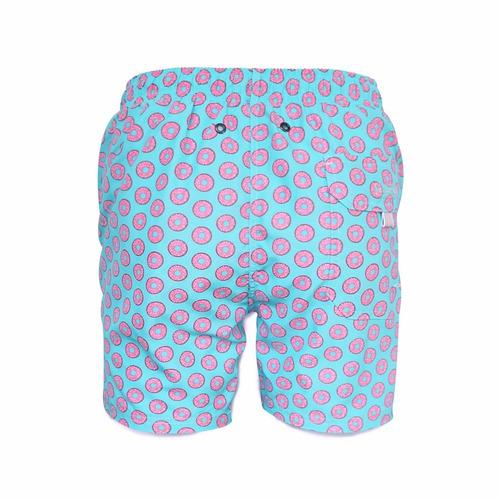 short traje de baño, 98 coast av., pink donuts