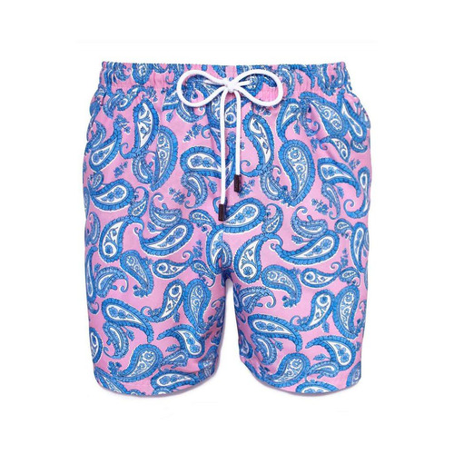 short traje de baño, 98 coast av., pink mermaid