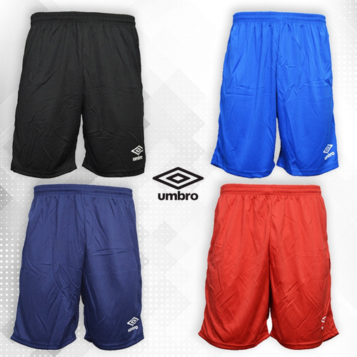 short umbro bermuda fútbol pantalón corto deportivo adulto