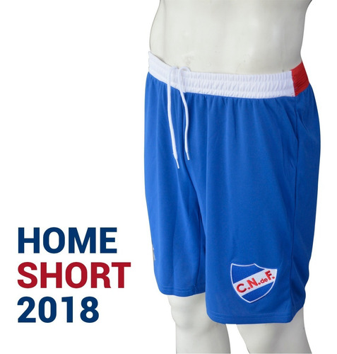 short umbro nacional uruguay juego local home 2018 de niño